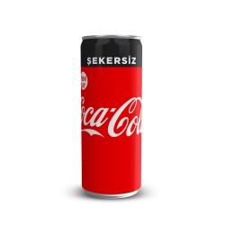 Coca Cola Şekersiz 330 Ml