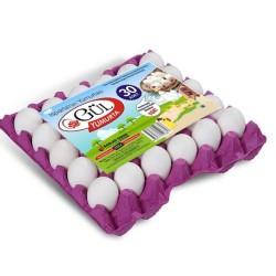 Gül Yumurta 30'lu Beyaz ( L )