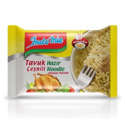 Indo Mie Tavuk Aromalı Hazır Noddle 70 Gr