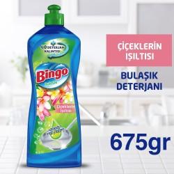Bingo Bulaşık Deterjanı Çiçeklerin Işıltısı 675 Ml