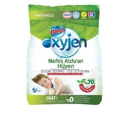 Bingo Oxyjen Toz Çamaşır Deterjanı Parfümsüz 4 Kg
