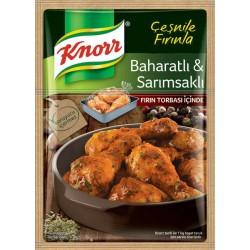 Knorr Fırında Tavuk Çeşnisi Baharatlı Sarımsaklı 34 Gr