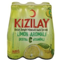 KIzIlay Maden Suyu Limon AromalI C Vitaminli 6'lı