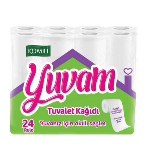 Komili Yuvam Tuvalet Kağıdı 24'lü