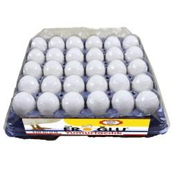 Eroğlu Yumurta 30'lu Beyaz ( L )