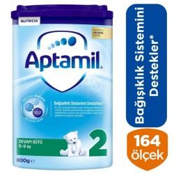 Aptamil 2 Devam Sütü 800 Gr 6-9 Ay Akıllı Kutu