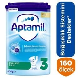 Aptamil 3 Devam Sütü 800 Gr 9-12 Ay Akıllı Kutu