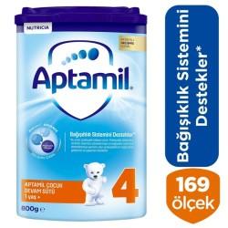 Aptamil 4 Çocuk Devam Sütü 800 Gr 1 Yaş + Akıllı Kutu